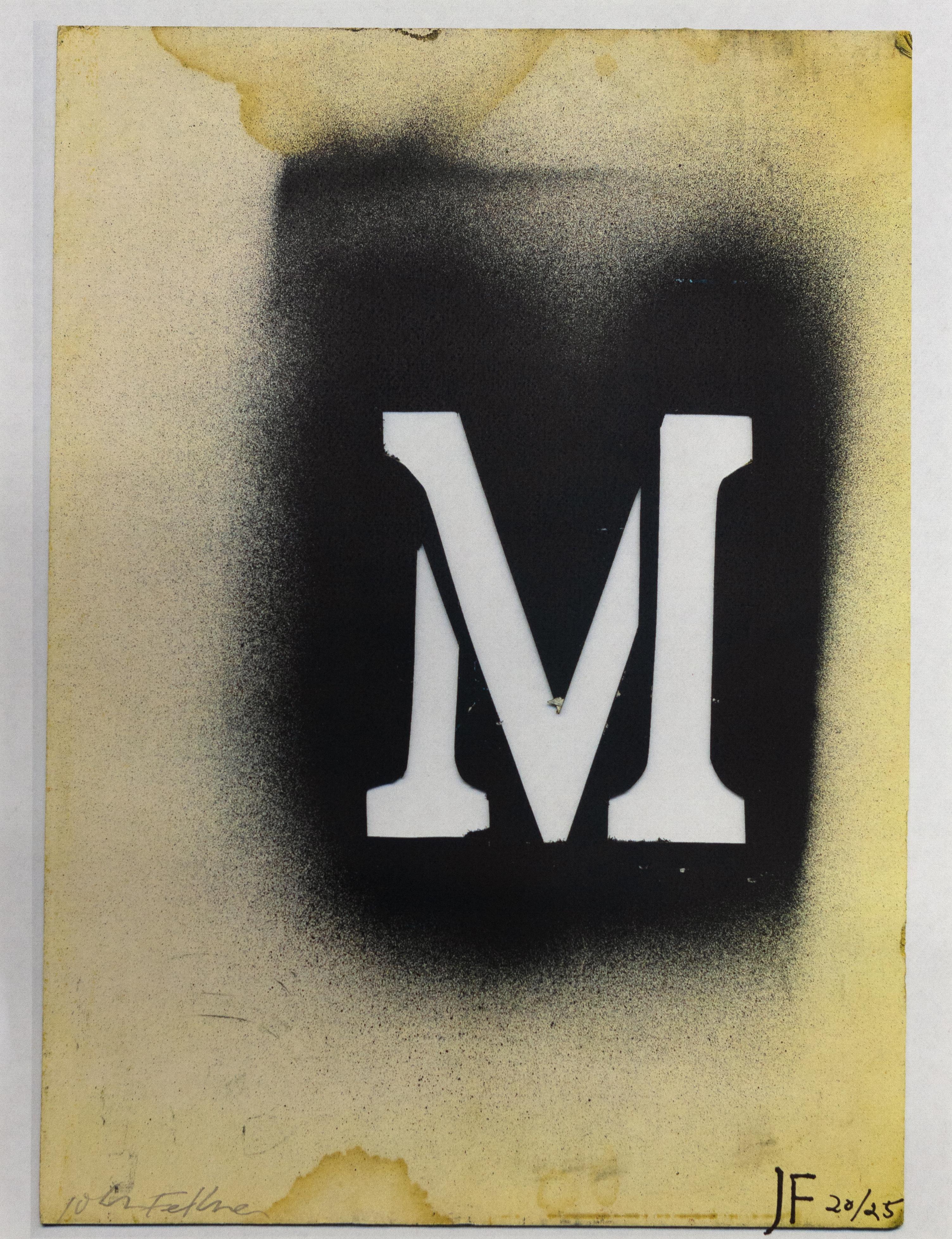 M (as in memory)
